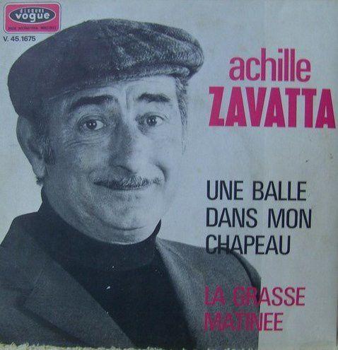 Achille Zavatta chanteur,