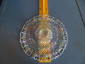 Fil dentelle crochet 1.5 = 25 cm de diamètre
