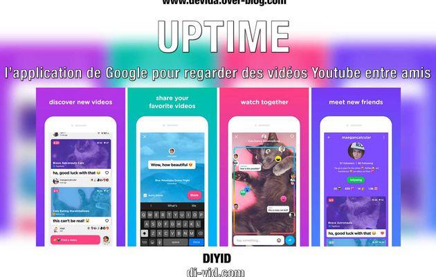 Uptime : l'application de Google pour regarder des vidéos Youtube entre amis