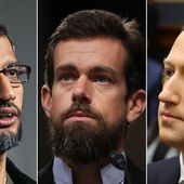 CEOs of Google, Twitter and Facebook grilled in Senate hearing