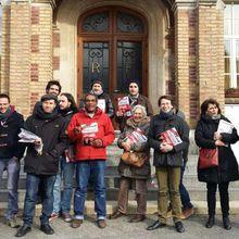 Législatives partielles de Saint Quentin ; la JC et le PCF Paris 15 se mobilisent pour soutenir nos camarades et la candidature de Corinne Bécourt.