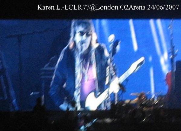 Album - O2 Arena London 24 juin 2007