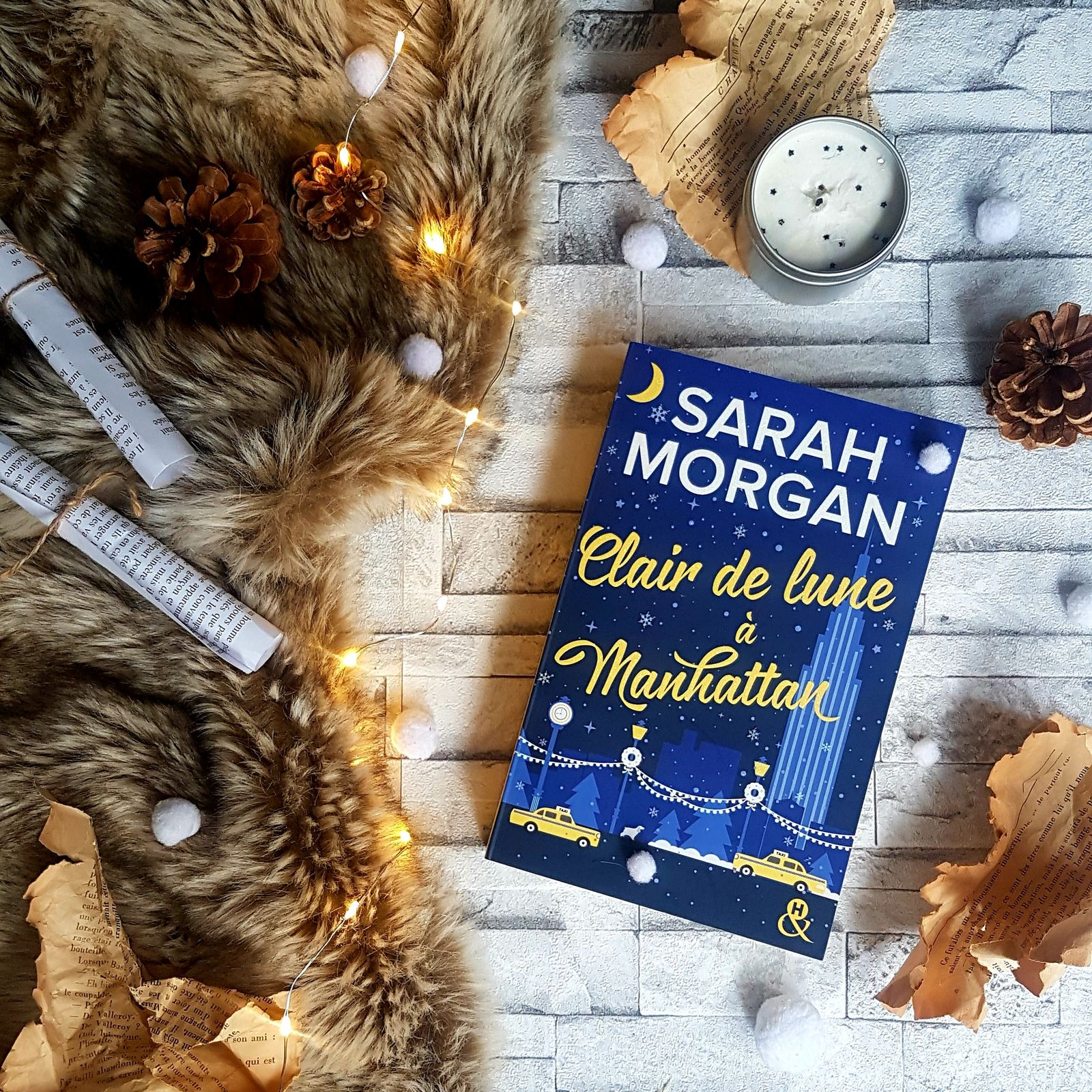 From New York with love, tome 3 : Clair de lune à Manhattan - Sarah Morgan