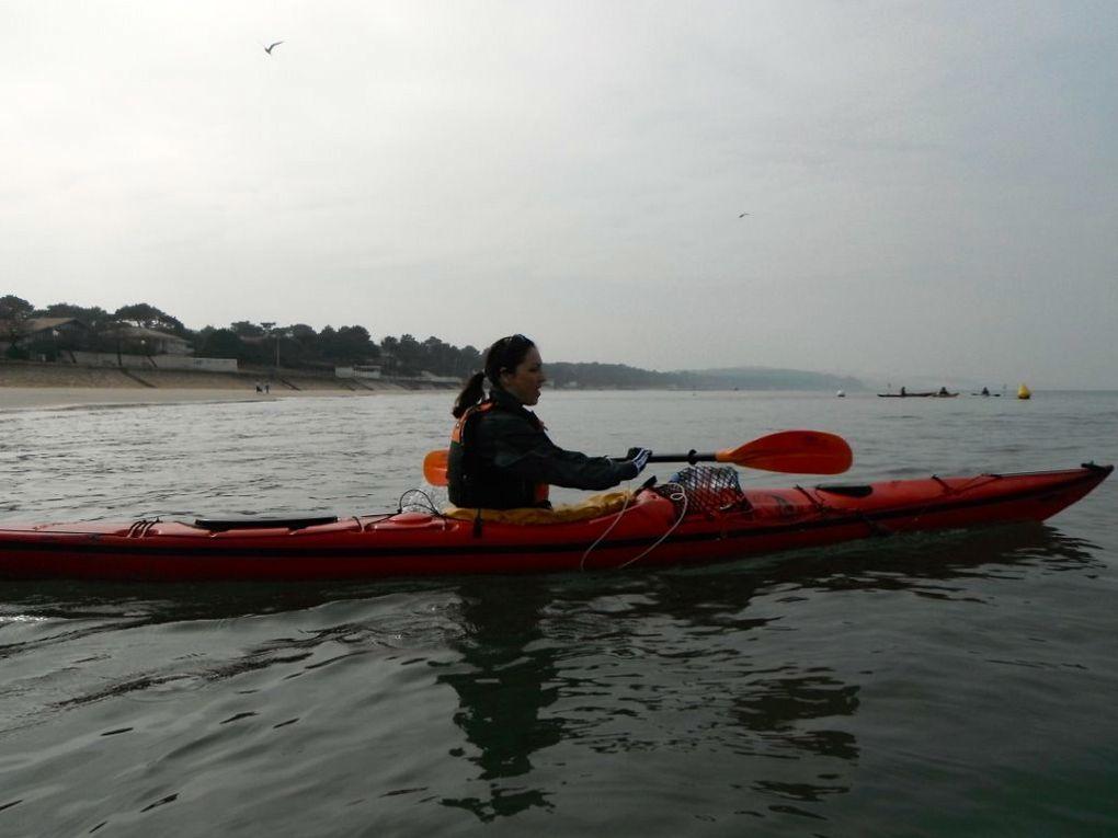 Navigation avec pique-nique à Arguin Sud. Photos : Cathy, Domi, Catherine B., Carine D., André
