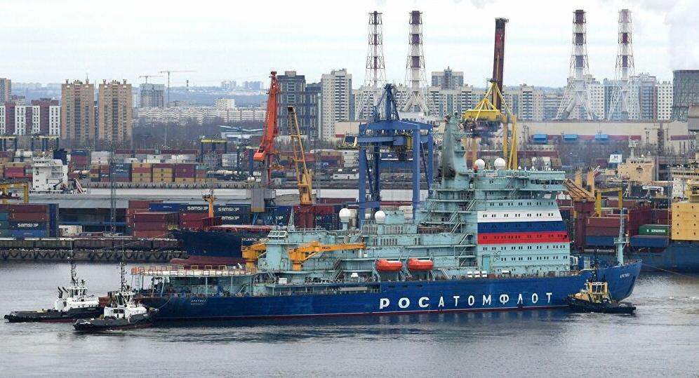 Shipping – Fin des essais en mer pour l'Arktika, le plus puissant brise-glace au monde