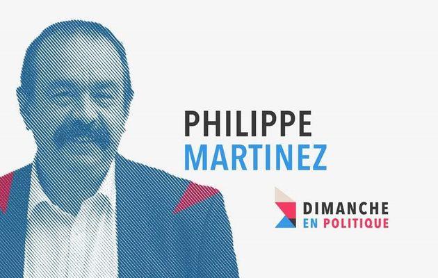 France 3 : « Dimanche en politique » avec Philippe Martinez (CGT) le 25 Février