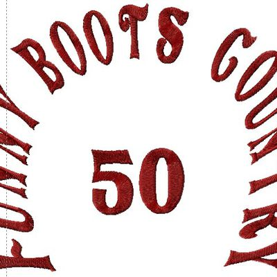 Funny Boots Country 50