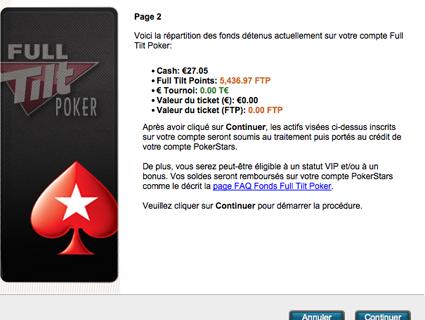 FullTilt Poker : 2 nouvelles, une bonne et une mauvaise