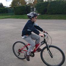 Vélo avec Maxime : Ecosite d'Eurre