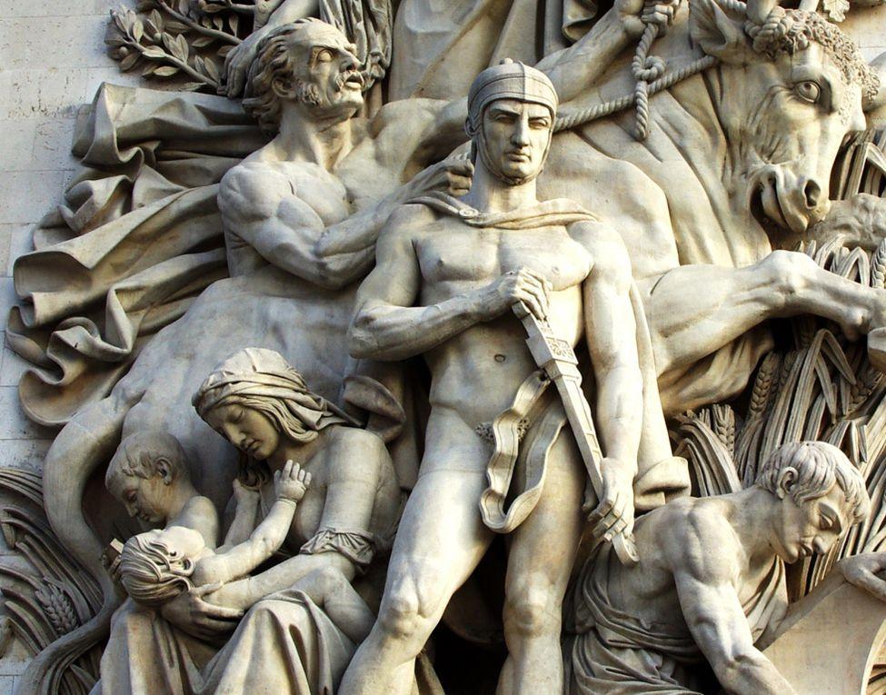 L'Arc de Triomphe à Paris quelques photographies