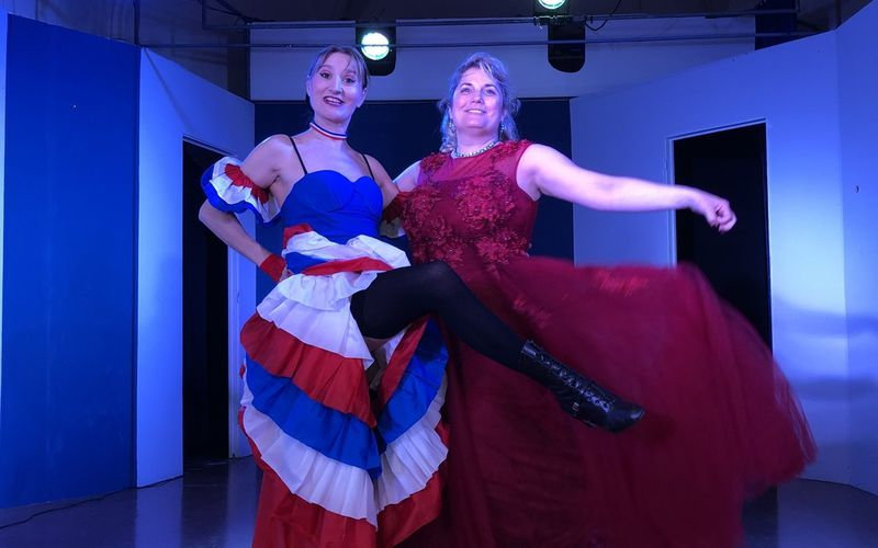 Compagnie Montmartre Live Show French can can et airs lyriques