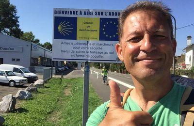 COMPOSTELLE 2016 : JOUR 14 - ARBLADE LE HAUT-AIRE SUR L'ADOUR  : 24 kms