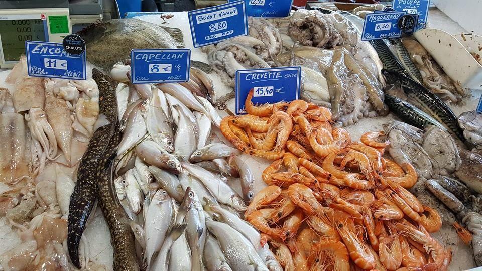 Mes bonnes adresses : le marché au poisson de Sanary