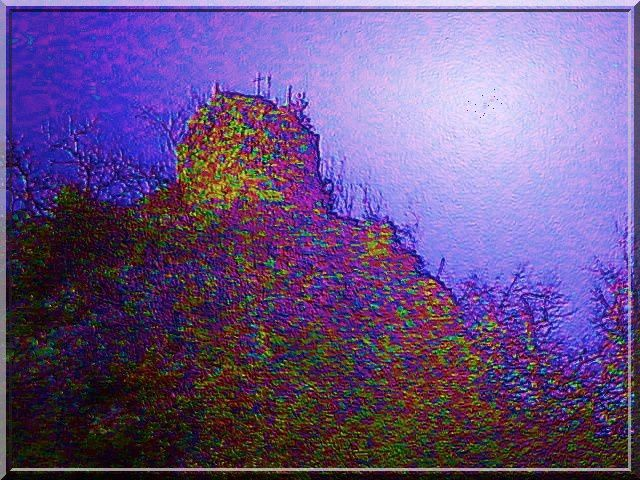 Diaporama tour fortifiée d'Espezel