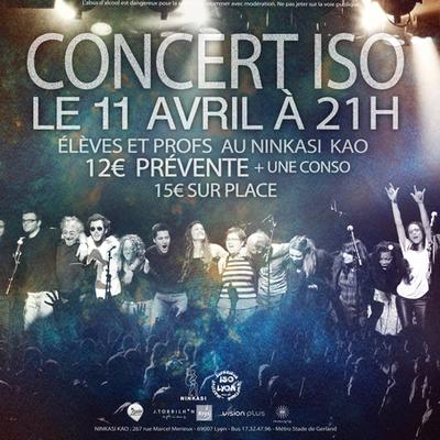 Concert ISO Lyon élèves et profs