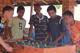 Sortie avec les jeunes à Andranovelona