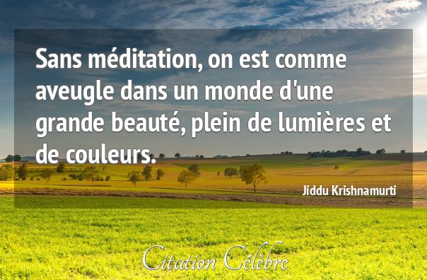 Méditation N° 31  Perles de méditation