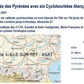 La traversée des Pyrénées - Cyclotouristes Alençonnais (C.T.A.)