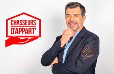 """La quotidienne """"Chasseurs d'appart"""" présentée par Stéphane Plaza se retour dès ce soir sur M6"""