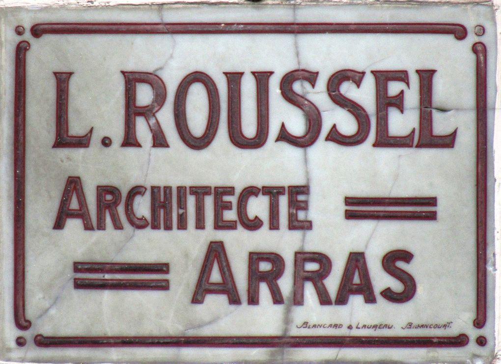 quelques signatures sur les façades