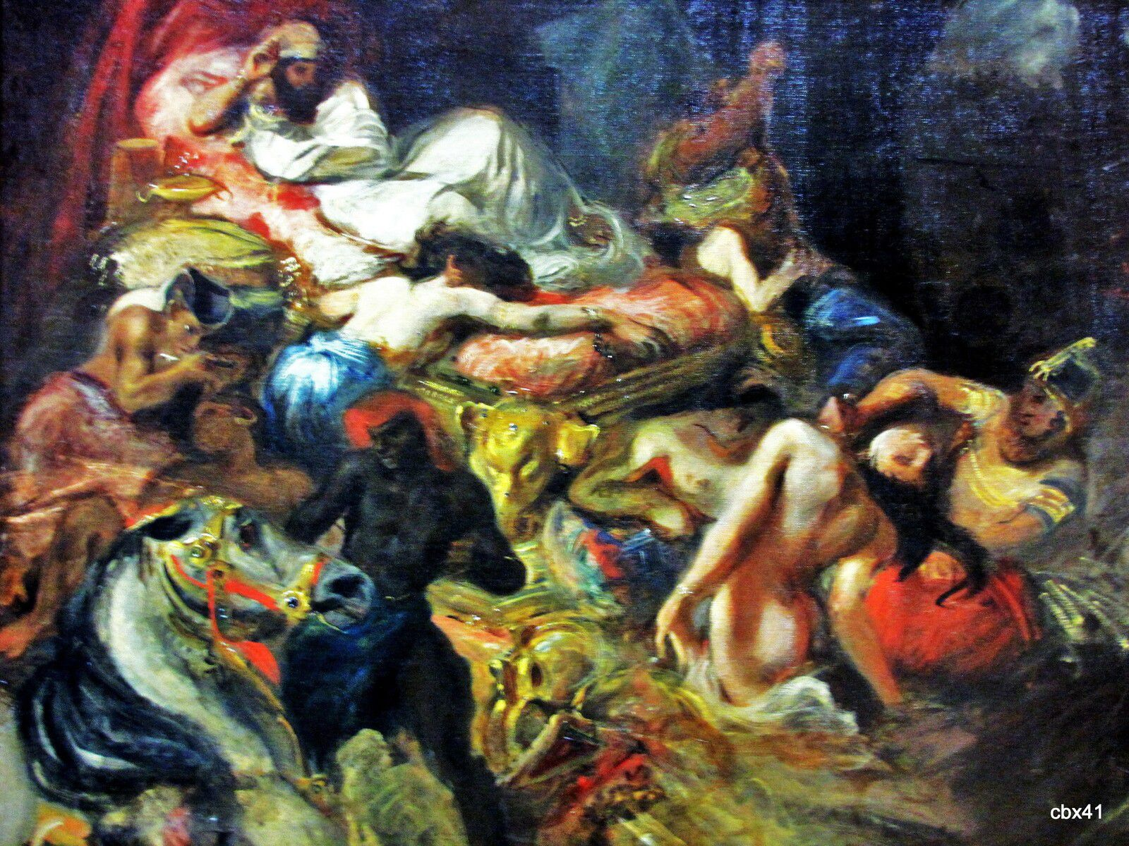 Eugène Delacroix, Mort de Sardanapale