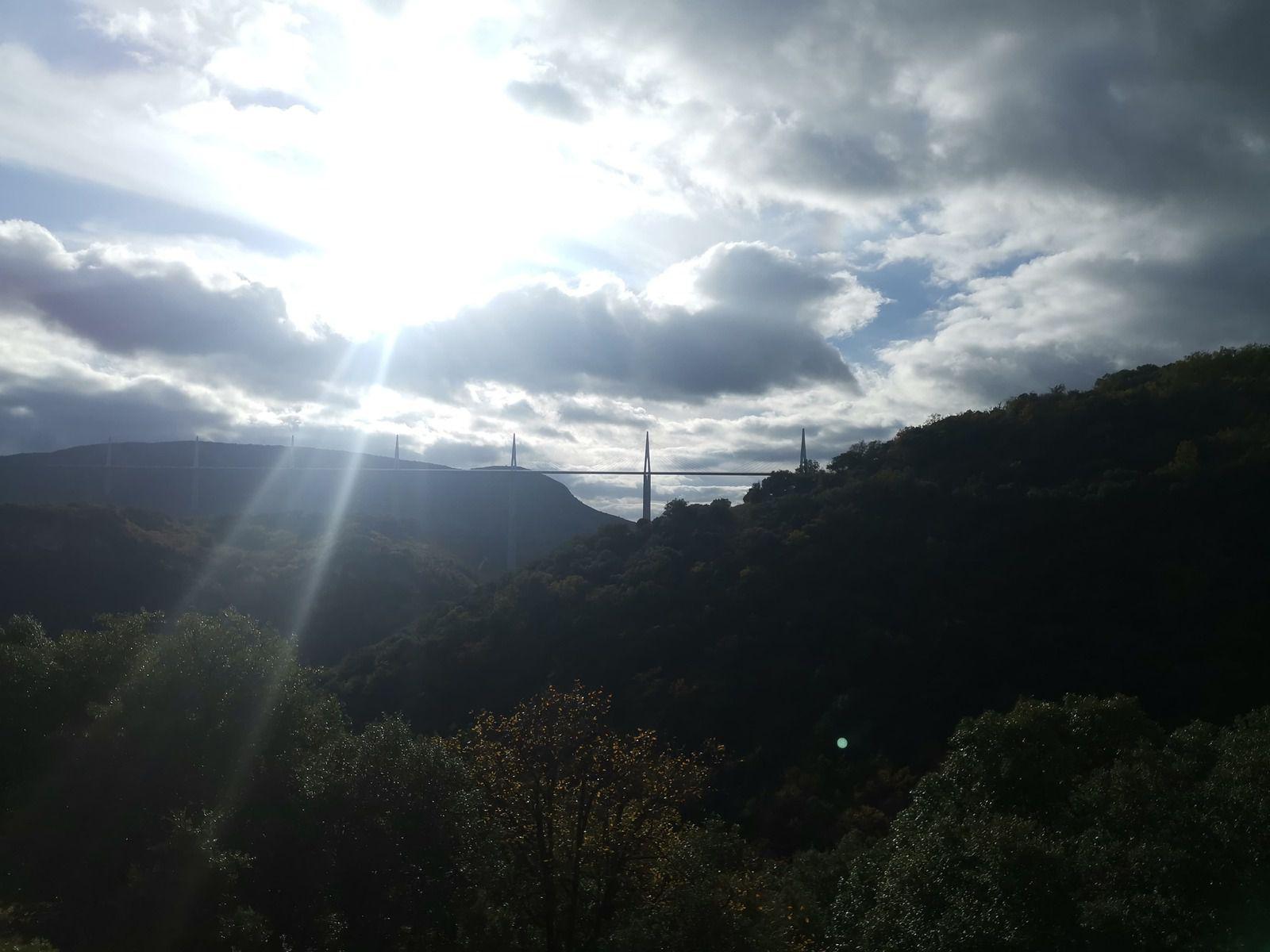 Ciel mitigé sur le Viaduc (novembre 2020)