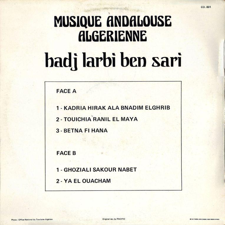 Musique Tlemcenienne, Haouzi,  Hawfi (haoufi), Saf  غناء تلمساني، حوفي حوزي