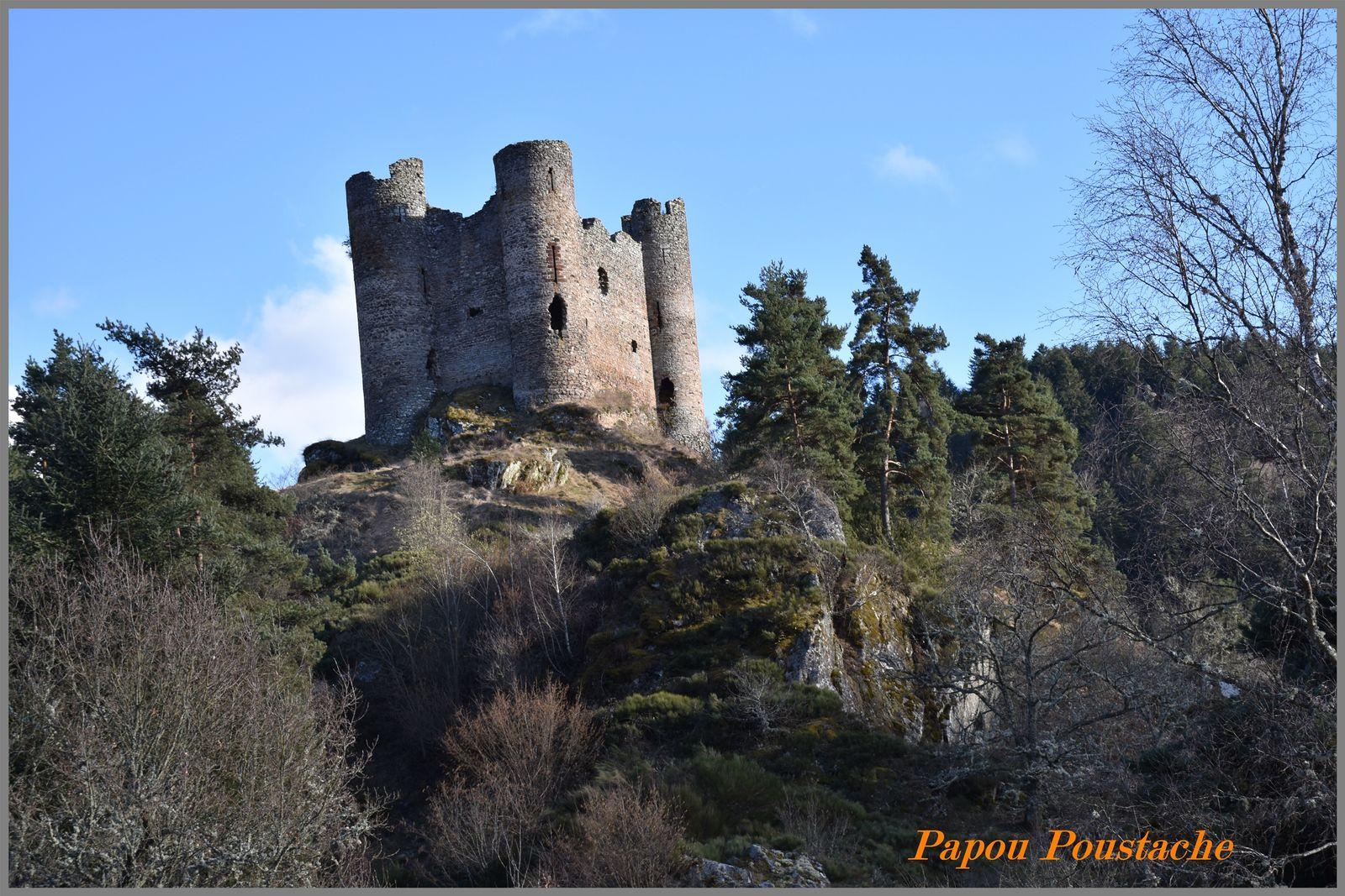 Le chateau d'Alleuze