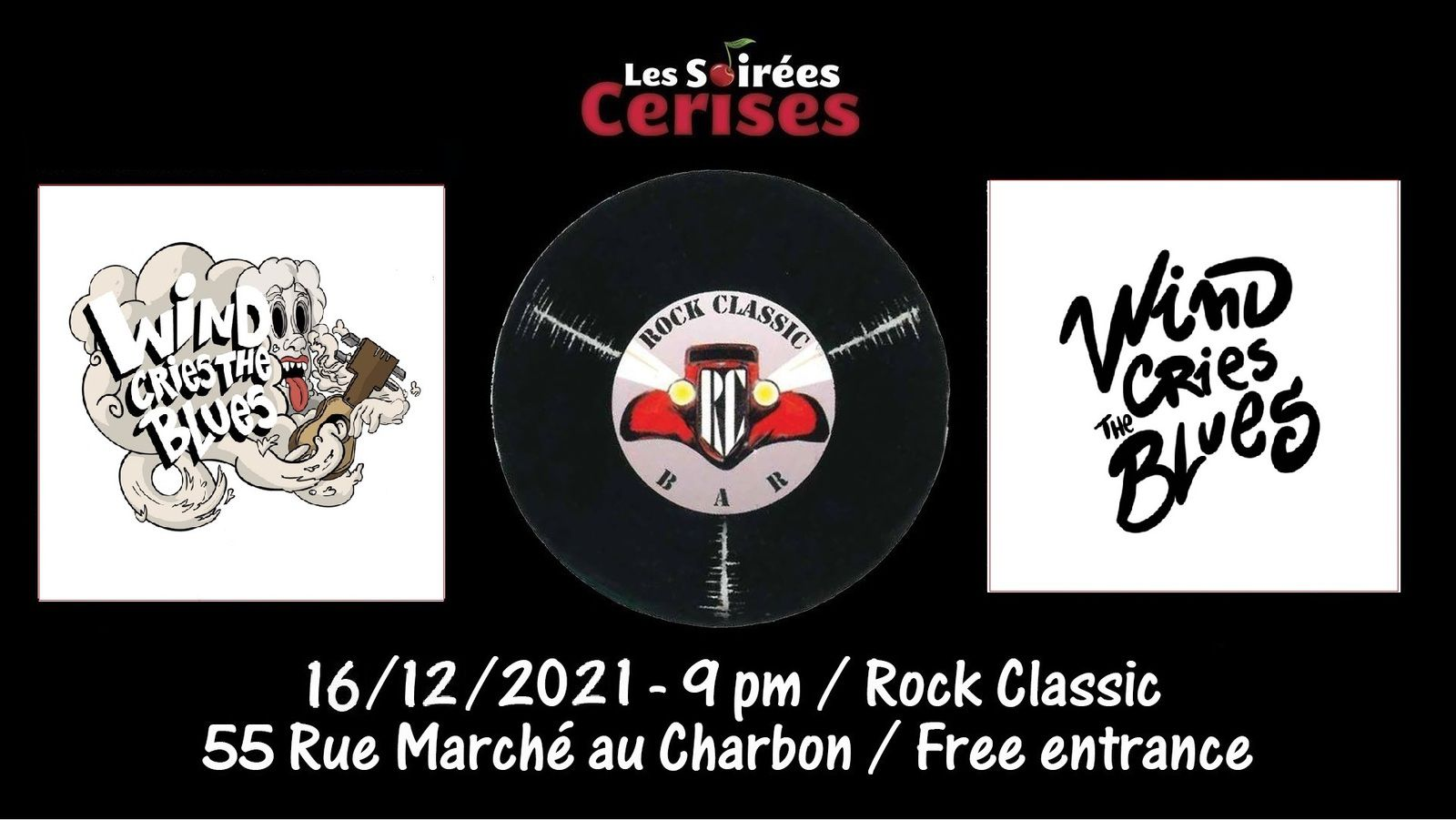 🎵 Wind cries the blues @ Rock Classic - 16/12/2021