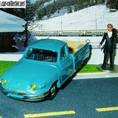 PANHARD F65 PICKUP 1/43 FABRICANT FRANCAIS LEADER - car-collector.net