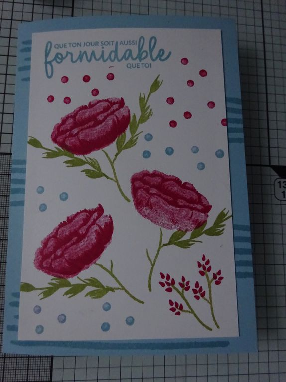 # simplestamping Stampin'Up!® set de tampons Incroyablement moi : 2 exemples de carte
