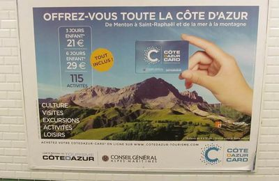 La Côte d'Azur à la carte ou le marketing des services