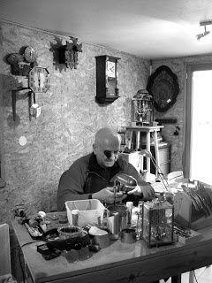 Jean-Marc Richer, Horloger restaurateur