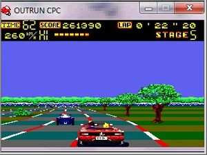 Le remake de Out Run façon Amstrad CPC !