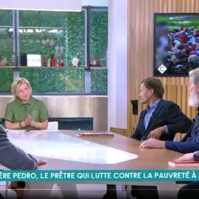 """Père Pedro reçu dans l'émission télévisée de France 5 """"C à Vous"""""""