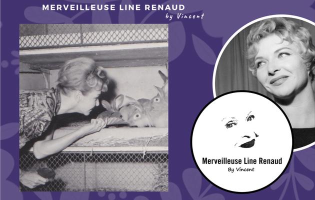 PHOTOS: Line Renaud nourrit ses lapins
