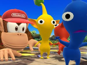 Diddy Kong présent dans Super Smash Bros