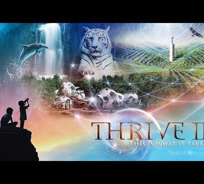 Pris sur youtube : 2:54 / 3:54  (Official Trailer) THRIVE II: This Is What It Takes