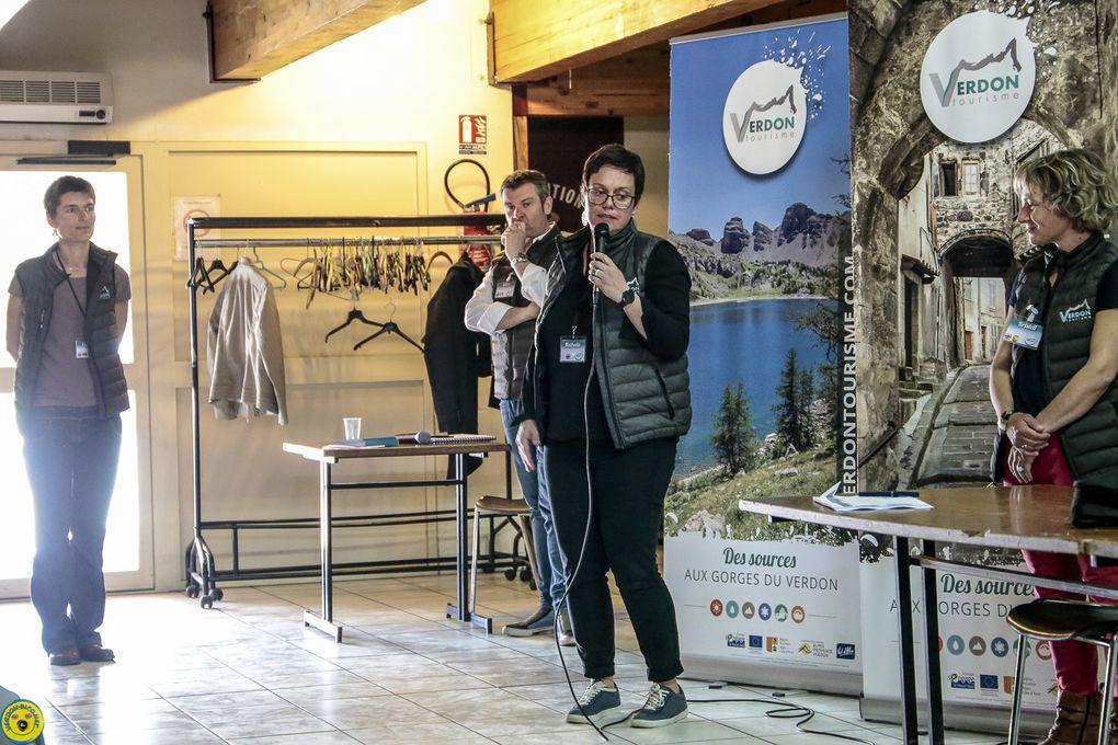 Saint André les Alpes : Verdon Tourisme est dans l'action!