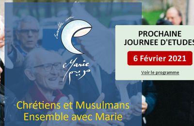 """Paris, colloque en visioconférence """"Marie chez les mystiques chrétiens et musulmans"""" le samedi 6 février 2021 de 9h30 à 17h"""