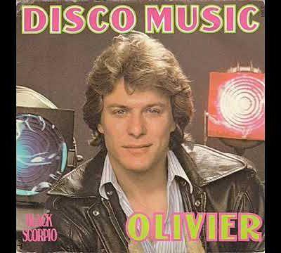 """olivier, un chanteur français des années 1970 à l'époque emblématique du disco et son hit révélateur """"disco music"""""""