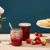 Recette Confiture de fraises, miel et gingembre - Le Parfait