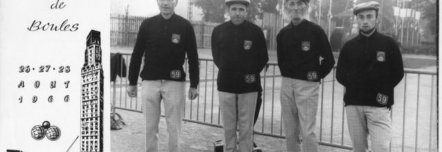 1966.08 Championnat de France quadrettes AMIENS