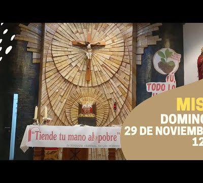 Misa domingo 29 de septiembre de 2020 12h