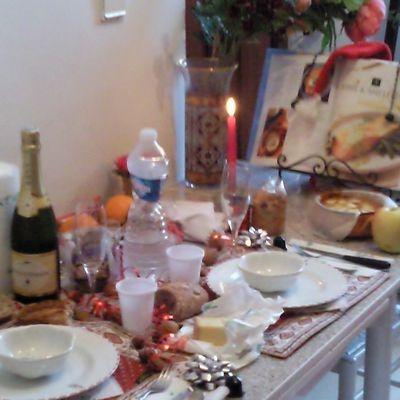 Table de Noel....entre raffinement et tradition....