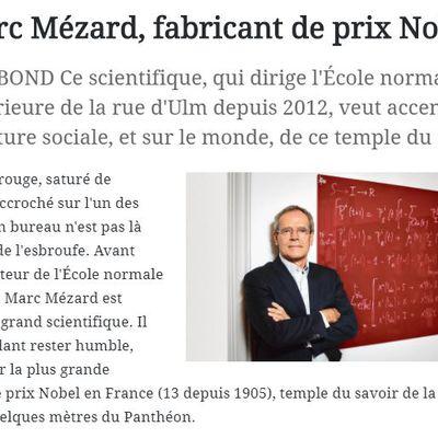 Aurillac : Marc Mézard, fabricant de prix Nobel