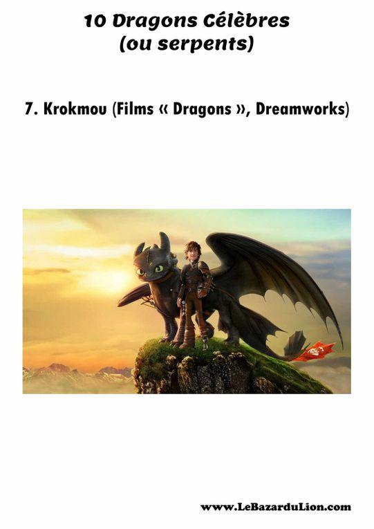 10 Dragons Célèbres (Annexe : Il n'y a pas de dragon dans cette histoire) [Dossier][Élémentaire]