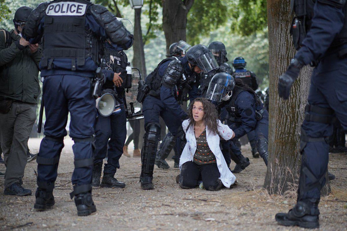 L'état ne tolère que sa propre violence : l'exemple de la violence policière contre les gilets jaunes