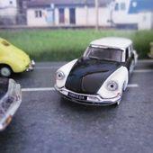 FASCICULE N°3 CITROEN DS 19 POLICE 1958 UNIVERSAL HOBBIES 1/87 - car-collector.net
