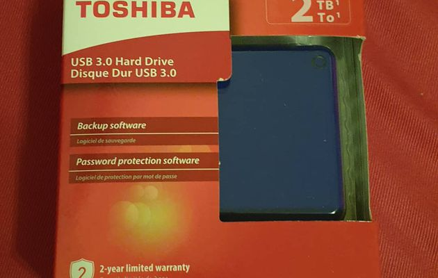 [TEST] DISQUE DUR EXTERNE TOSHIBA CANVIO ADVANCE 2TO